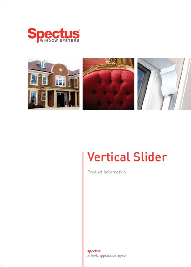 Spectus Window Systems Vertical Slider