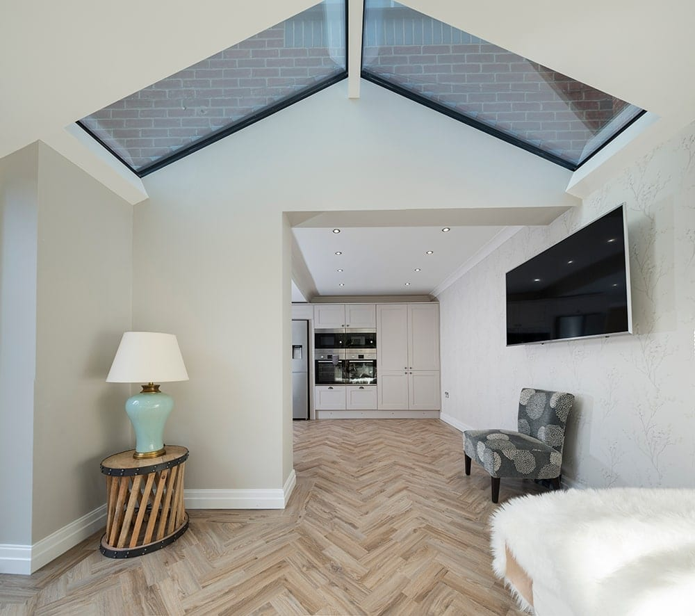 WARMroof Interior with Skylights
