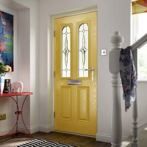 Bright Yellow Composite Door