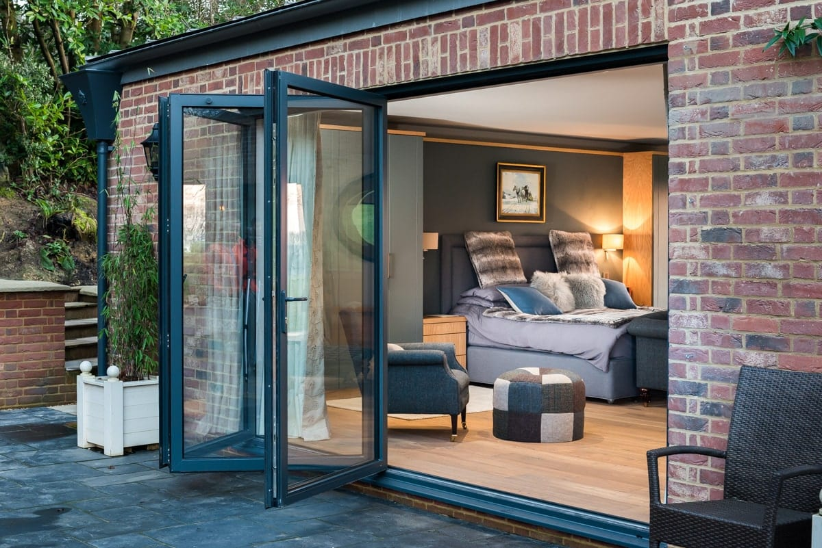 Anthracite Grey Bi-Fold Doors
