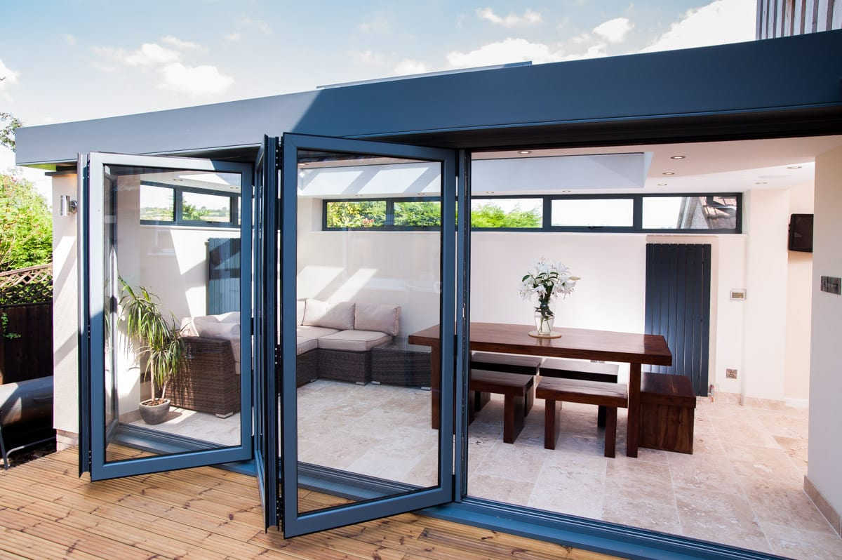 Bi-Fold Doors on Skyroom