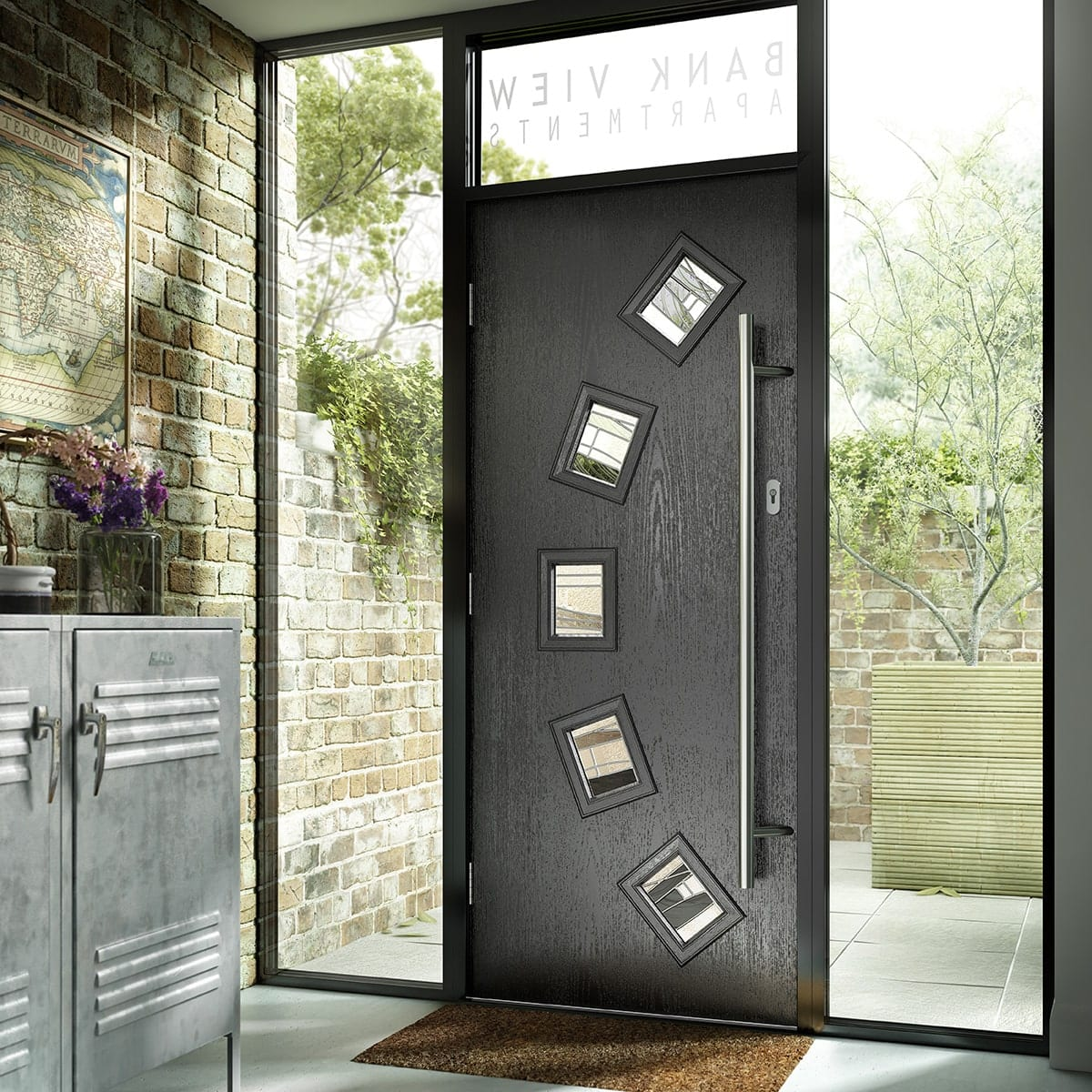 Grey Composite Door