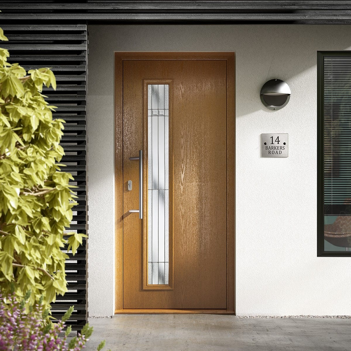 Brown Composite Door