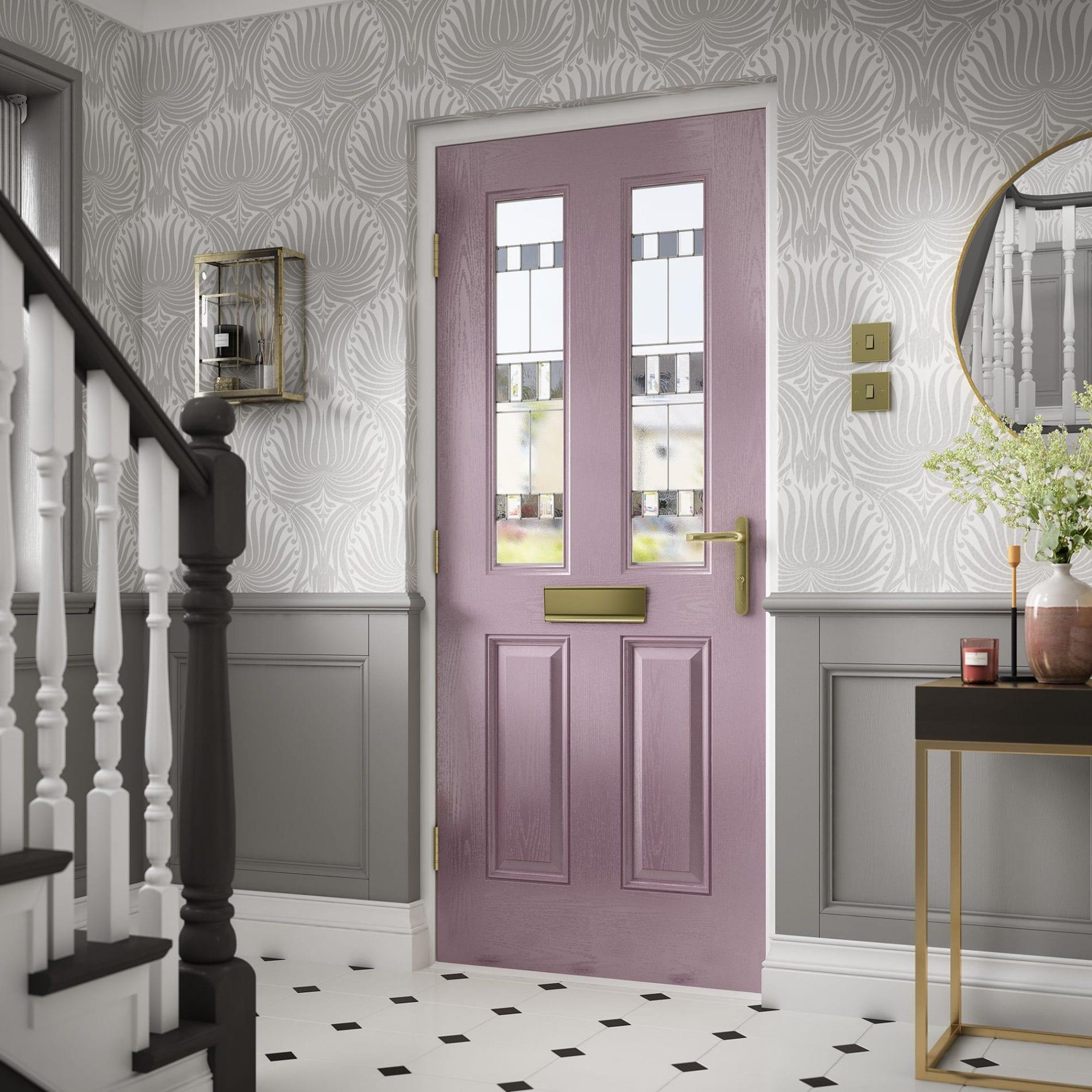 Lilac Composite Door