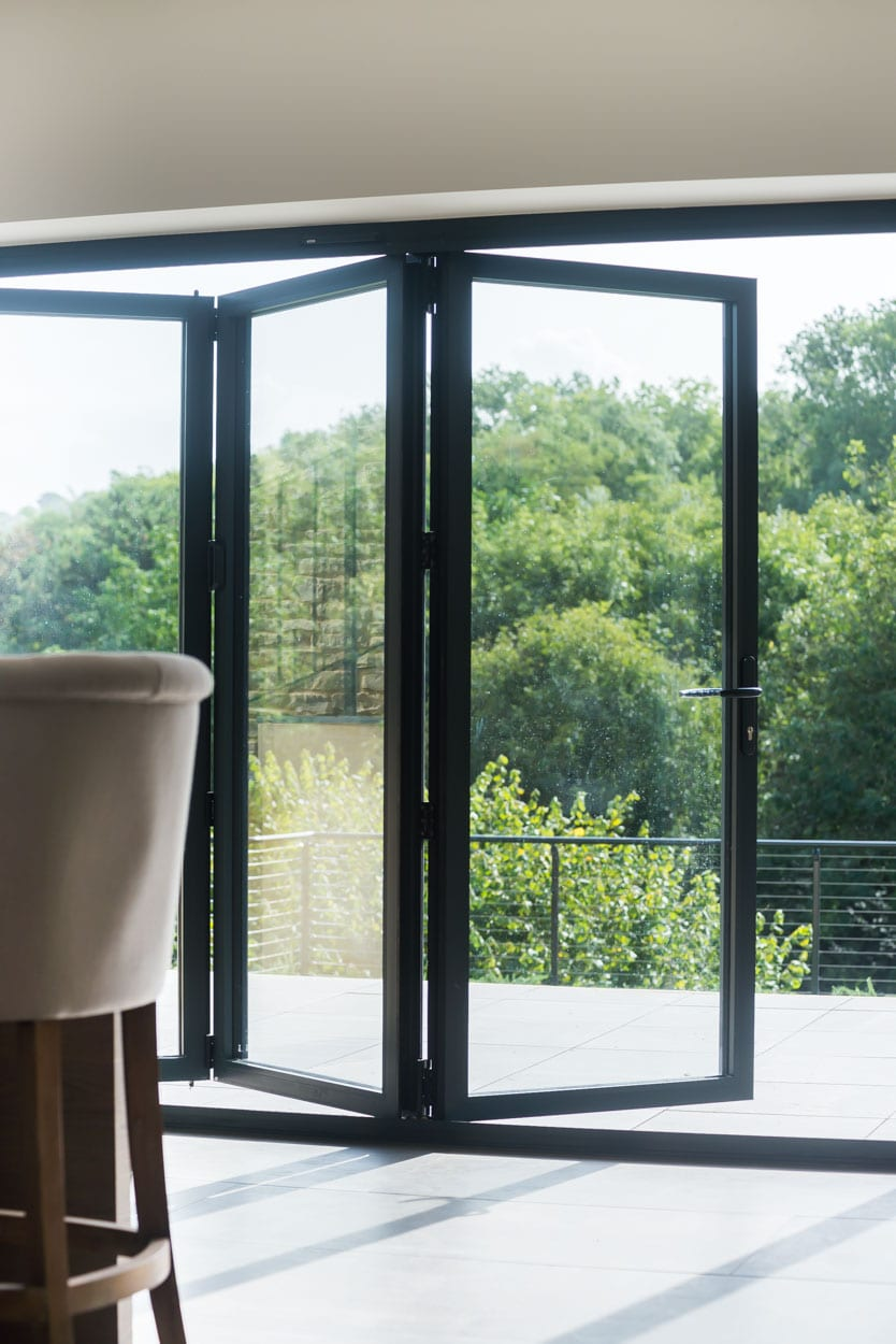 Bi-Fold Doors with panoramic views