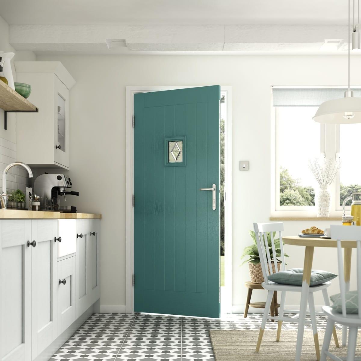 Aqua Composite Door