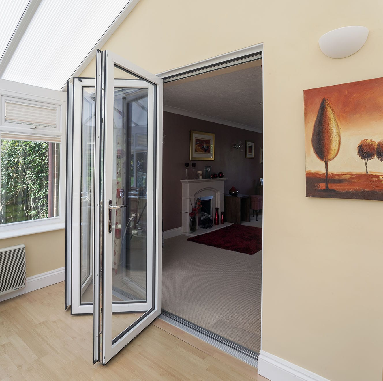 Gloss White Internal Bi Fold Doors