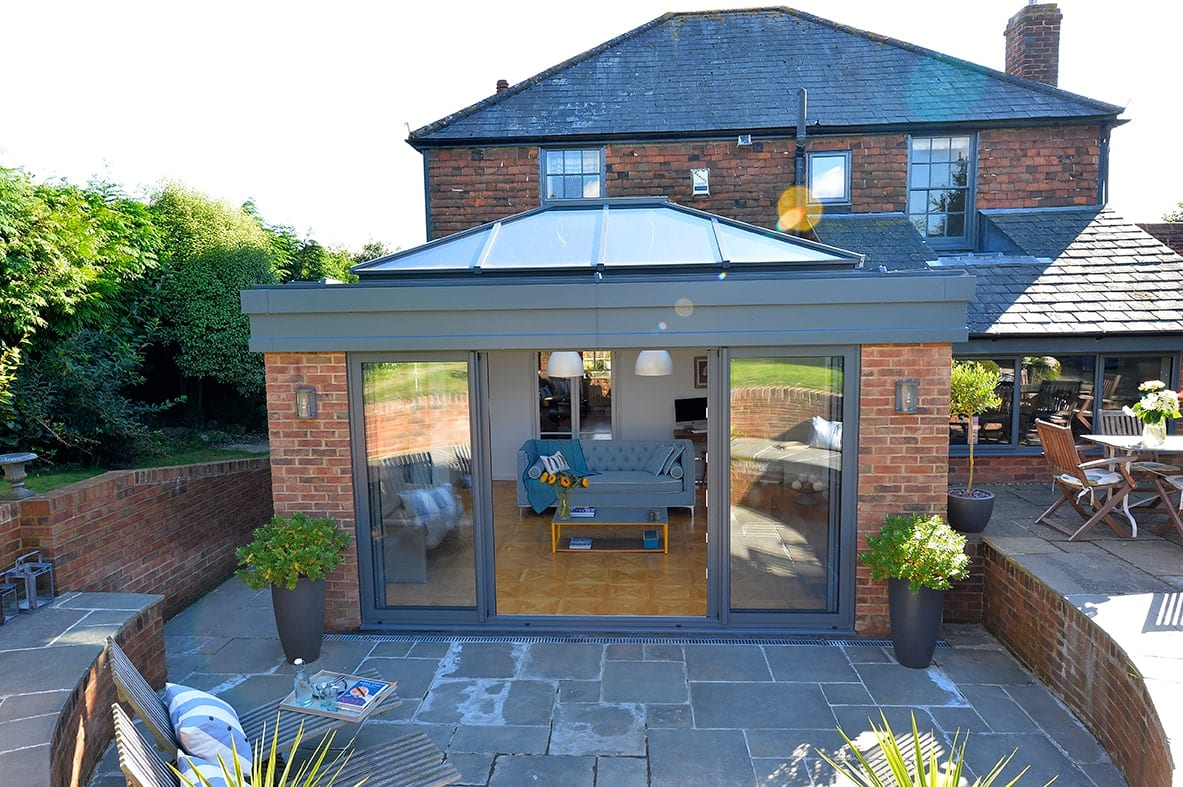 Anthracite Grey Sliding Patio Doors